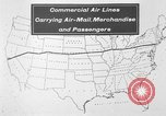Image of animated map United States USA, 1924, second 8 stock footage video 65675051107