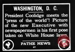 Image of President Calvin Coolidge Washington DC USA, 1936, second 2 stock footage video 65675051132
