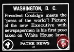 Image of President Calvin Coolidge Washington DC USA, 1936, second 5 stock footage video 65675051132