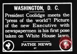Image of President Calvin Coolidge Washington DC USA, 1936, second 7 stock footage video 65675051132