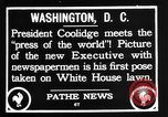 Image of President Calvin Coolidge Washington DC USA, 1936, second 9 stock footage video 65675051132