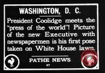 Image of President Calvin Coolidge Washington DC USA, 1936, second 10 stock footage video 65675051132
