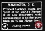 Image of President Calvin Coolidge Washington DC USA, 1936, second 12 stock footage video 65675051132