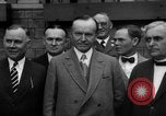 Image of President Calvin Coolidge United States USA, 1926, second 10 stock footage video 65675051139