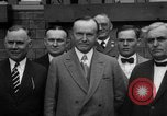 Image of President Calvin Coolidge United States USA, 1926, second 12 stock footage video 65675051139
