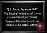 Image of Emperor Hirohito reviews Japanese Navy Yokohama Japan, 1927, second 6 stock footage video 65675051155