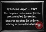 Image of Emperor Hirohito reviews Japanese Navy Yokohama Japan, 1927, second 8 stock footage video 65675051155