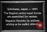 Image of Emperor Hirohito reviews Japanese Navy Yokohama Japan, 1927, second 10 stock footage video 65675051155