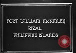 Image of Philippine Division troops parade Rizal Philippine Islands, 1928, second 1 stock footage video 65675051156