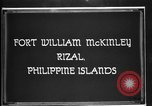 Image of Philippine Division troops parade Rizal Philippine Islands, 1928, second 2 stock footage video 65675051156