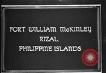 Image of Philippine Division troops parade Rizal Philippine Islands, 1928, second 7 stock footage video 65675051156