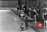 Image of swimmers San Antonio Texas USA, 1928, second 4 stock footage video 65675051159