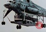 Image of Soviet MI-10 helicopter Soviet Union, 1968, second 7 stock footage video 65675051238