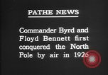 Image of Floyd Bennett Arctic region, 1926, second 4 stock footage video 65675051259
