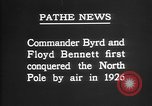 Image of Floyd Bennett Arctic region, 1926, second 5 stock footage video 65675051259
