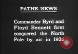 Image of Floyd Bennett Arctic region, 1926, second 6 stock footage video 65675051259