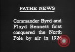 Image of Floyd Bennett Arctic region, 1926, second 7 stock footage video 65675051259