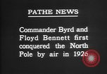 Image of Floyd Bennett Arctic region, 1926, second 8 stock footage video 65675051259