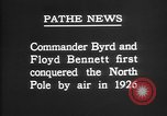 Image of Floyd Bennett Arctic region, 1926, second 9 stock footage video 65675051259