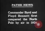 Image of Floyd Bennett Arctic region, 1926, second 10 stock footage video 65675051259
