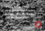 Image of Mount McKinley park Alaska USA, 1929, second 1 stock footage video 65675051283