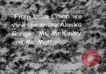 Image of Mount McKinley park Alaska USA, 1929, second 4 stock footage video 65675051283
