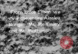 Image of Mount McKinley park Alaska USA, 1929, second 5 stock footage video 65675051283