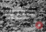 Image of Mount McKinley park Alaska USA, 1929, second 6 stock footage video 65675051283