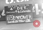 Image of General Eisenhower United Kingdom, 1944, second 1 stock footage video 65675051297