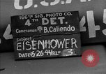 Image of General Eisenhower United Kingdom, 1944, second 6 stock footage video 65675051297