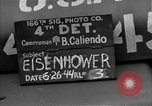 Image of General Eisenhower United Kingdom, 1944, second 7 stock footage video 65675051297