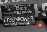 Image of General Eisenhower United Kingdom, 1944, second 1 stock footage video 65675051298