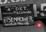 Image of General Eisenhower United Kingdom, 1944, second 2 stock footage video 65675051298