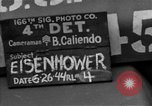 Image of General Eisenhower United Kingdom, 1944, second 3 stock footage video 65675051298