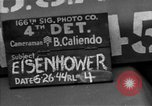 Image of General Eisenhower United Kingdom, 1944, second 4 stock footage video 65675051298