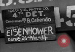 Image of General Eisenhower United Kingdom, 1944, second 5 stock footage video 65675051298