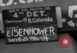 Image of General Eisenhower United Kingdom, 1944, second 6 stock footage video 65675051298
