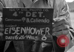 Image of General Eisenhower United Kingdom, 1944, second 3 stock footage video 65675051300