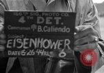 Image of General Eisenhower United Kingdom, 1944, second 6 stock footage video 65675051300