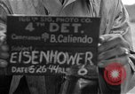 Image of General Eisenhower United Kingdom, 1944, second 8 stock footage video 65675051300