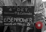 Image of General Eisenhower United Kingdom, 1944, second 10 stock footage video 65675051300