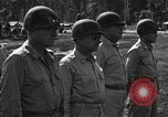 Image of Major general O W Griswold Bougainville Solomon Islands, 1944, second 11 stock footage video 65675051302