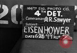 Image of General Eisenhower United Kingdom, 1944, second 5 stock footage video 65675051309