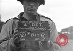 Image of U.S. 127th Field Artillery Regiment Saint Lo France, 1944, second 2 stock footage video 65675051312