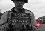 Image of U.S. 127th Field Artillery Regiment Saint Lo France, 1944, second 4 stock footage video 65675051312