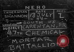 Image of United States 87th Chemical Mortar Battalion Carentan France, 1944, second 1 stock footage video 65675051326