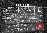 Image of United States 87th Chemical Mortar Battalion Carentan France, 1944, second 2 stock footage video 65675051326