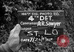 Image of United States 35th Infantry Division Saint Lo France, 1944, second 7 stock footage video 65675051327