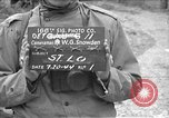 Image of United States 35th Infantry Division Saint Lo France, 1944, second 1 stock footage video 65675051331