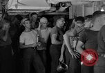 Image of United States Navy sailors enjoy ice cream Pacific Ocean, 1954, second 4 stock footage video 65675051350